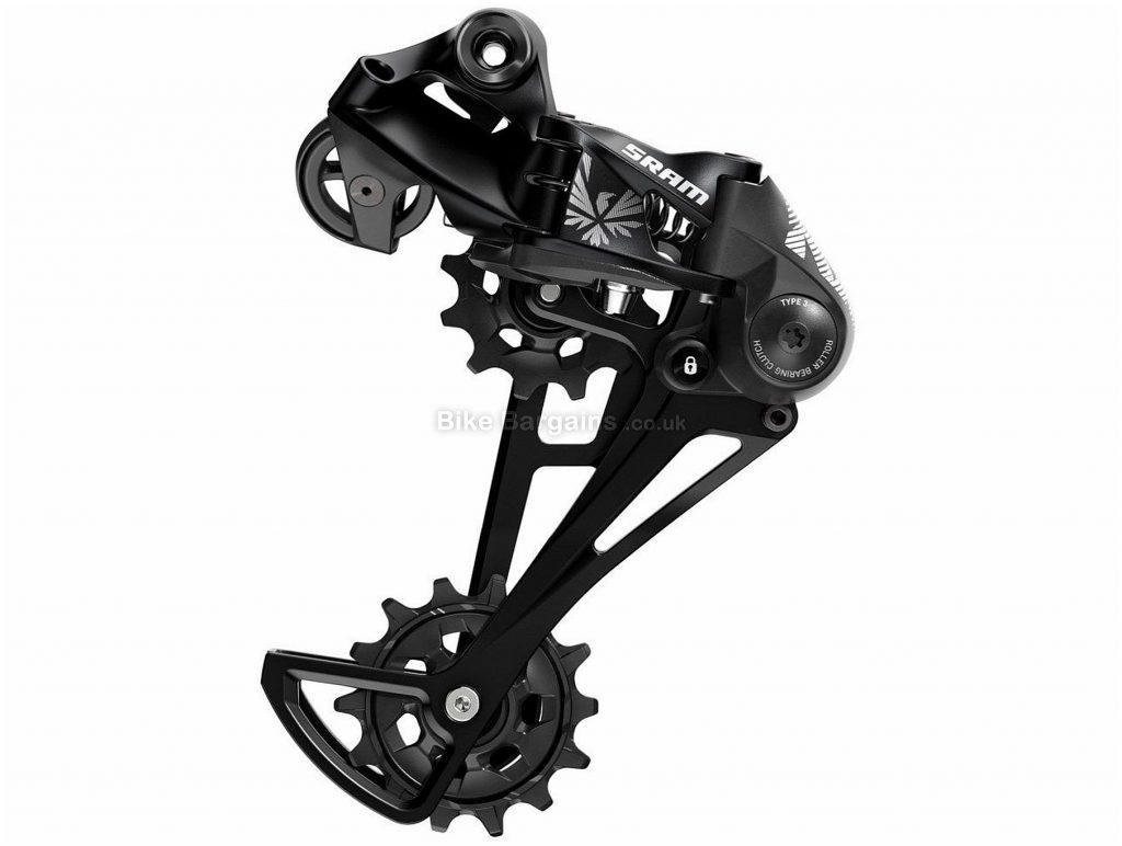 SRAM NX Eagle 12 Speed Rear Mech 12 Speed, Black, 339g, MTB, Alloy