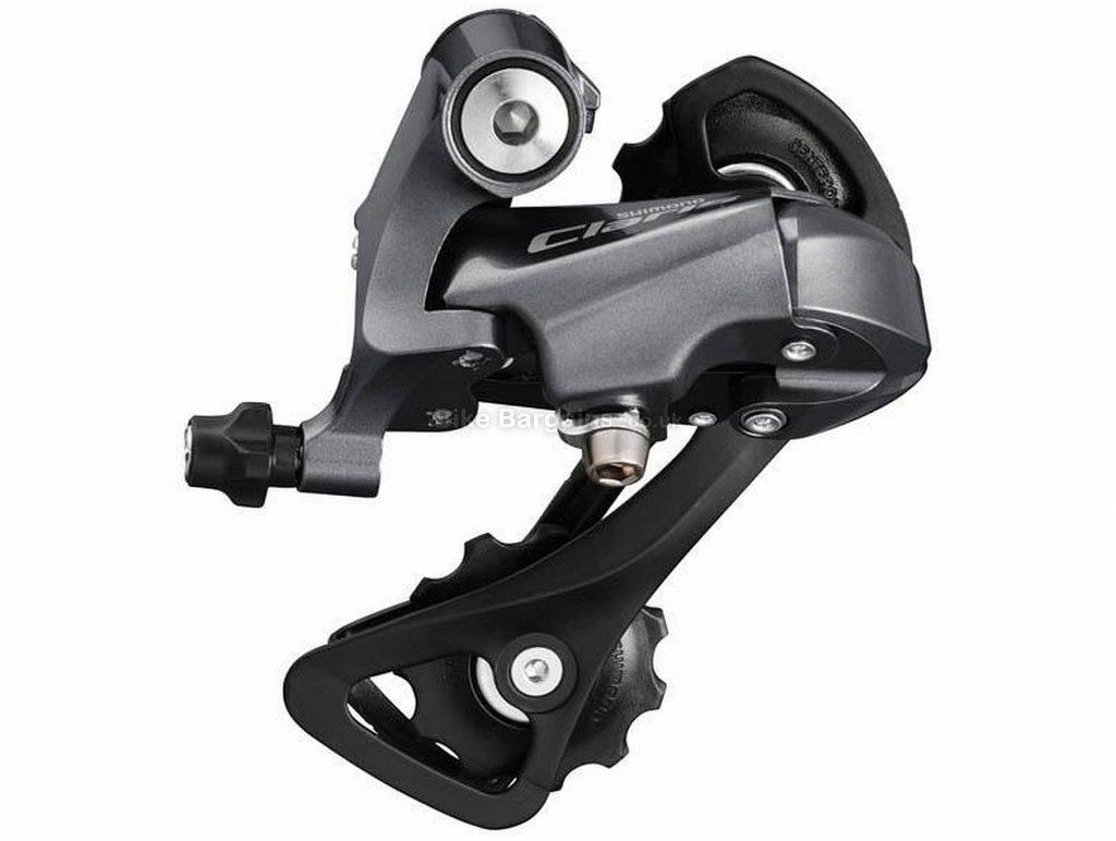 Shimano Claris R2000 8 Speed Rear Mech 8 Speed, Black, 268g, Road, Alloy