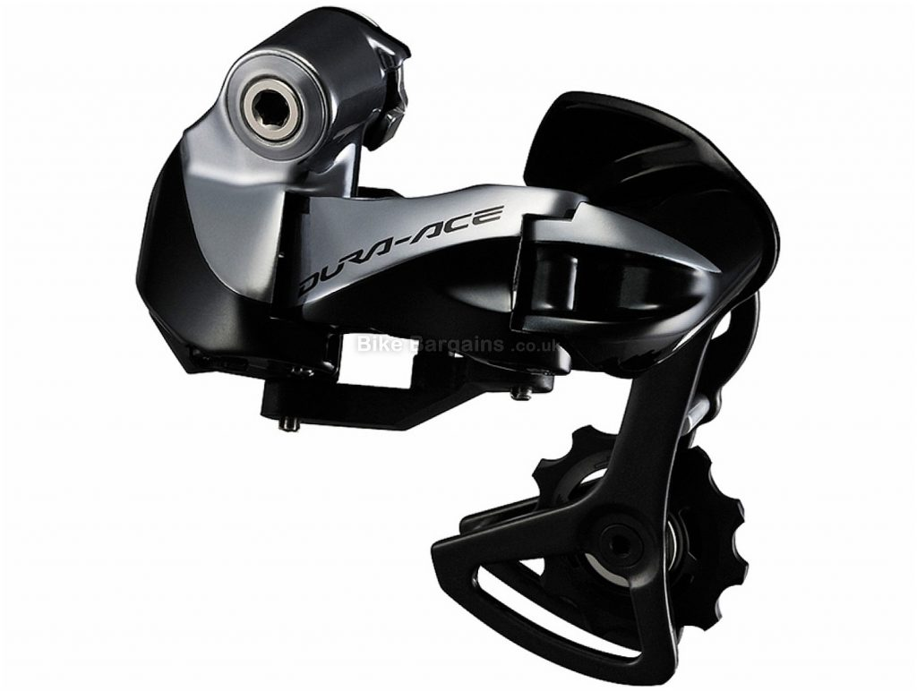Shimano Dura-Ace 9070 Di2 11 Speed Rear Mech 11 Speed, Black, Grey, 217g, Road, Alloy