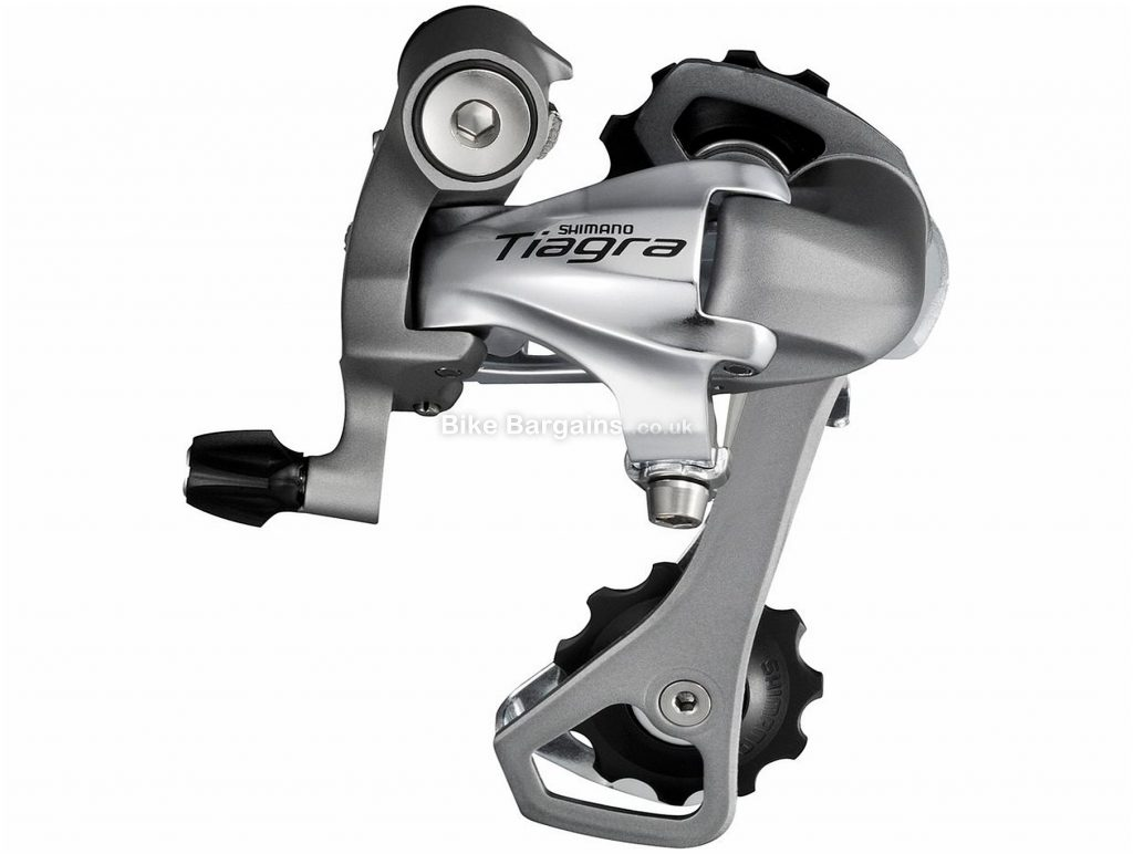 Shimano Tiagra 4601 10 Speed Rear Mech 10 Speed, Black, Silver, 275g, Road, Alloy