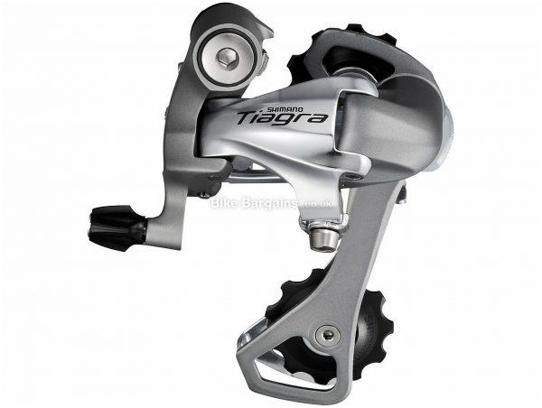 Shimano Tiagra 4601 10 Speed Rear Mech 10 Speed, Black, Silver, 275g, Road, Alloy