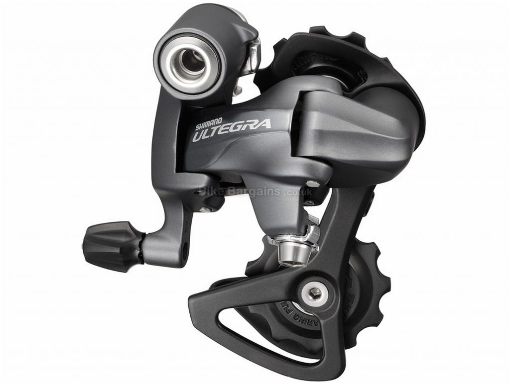 Shimano Ultega 6700 10 Speed Rear Mech 10 Speed, Black, Grey, 190g, Road, Alloy
