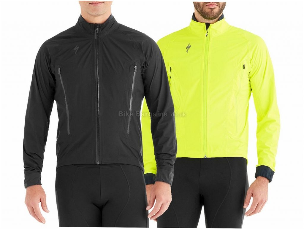 Specialized Deflect H2O Road Jacket 2019 S,M,L,XL,XXL, Yellow, Black