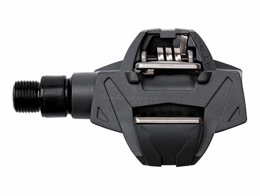 """Time Atac XC2 MTB Pedals Clipless, MTB, 302g, Steel, Composite, Black, Silver, 9/16"""""""