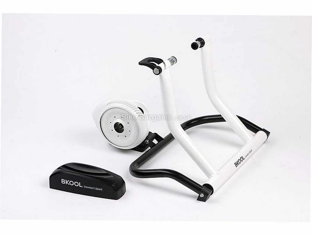 Bkool Home Turbo Trainer 1200w, 14kg, White, Black