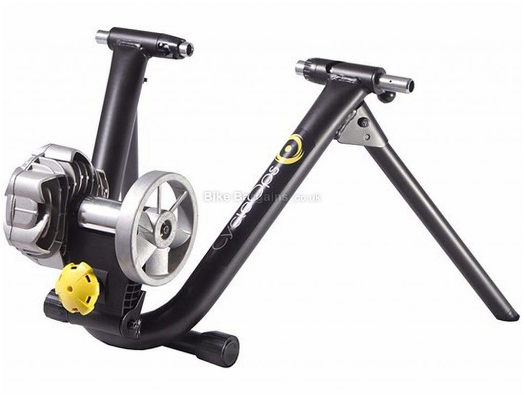 CycleOps Classic Fluid 2 Turbo Trainer Fluid resistance, 1.24kg flywheel, Black, Silver
