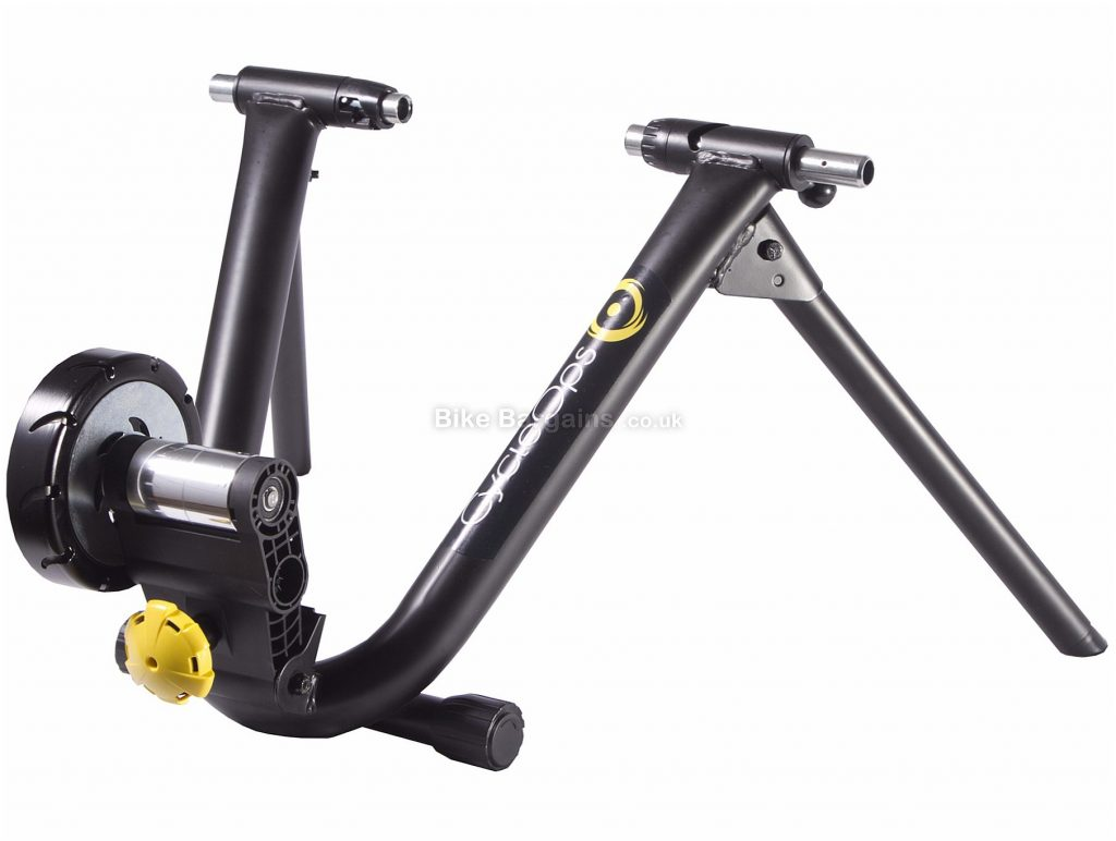 "Cycleops Classic Magneto Turbo Trainer 26"" - 29"" wheel sizes, Black, Yellow"