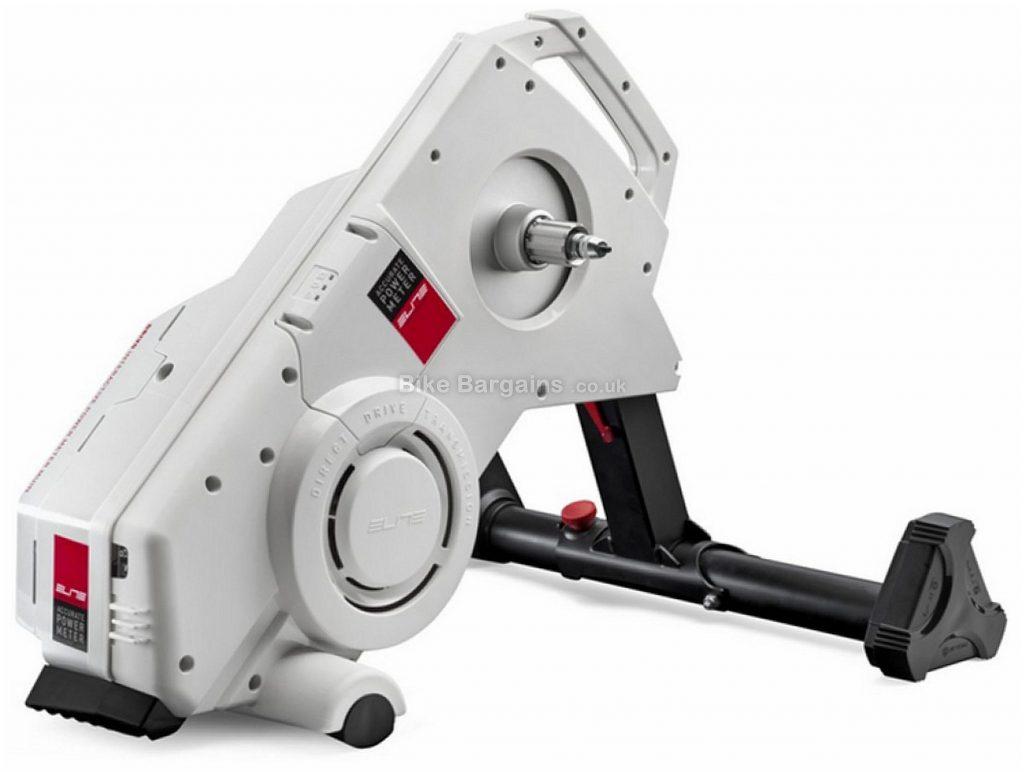 Elite Drivo Direct Drive Smart Turbo Trainer 3000 watts, 18kg, White, Black, Red