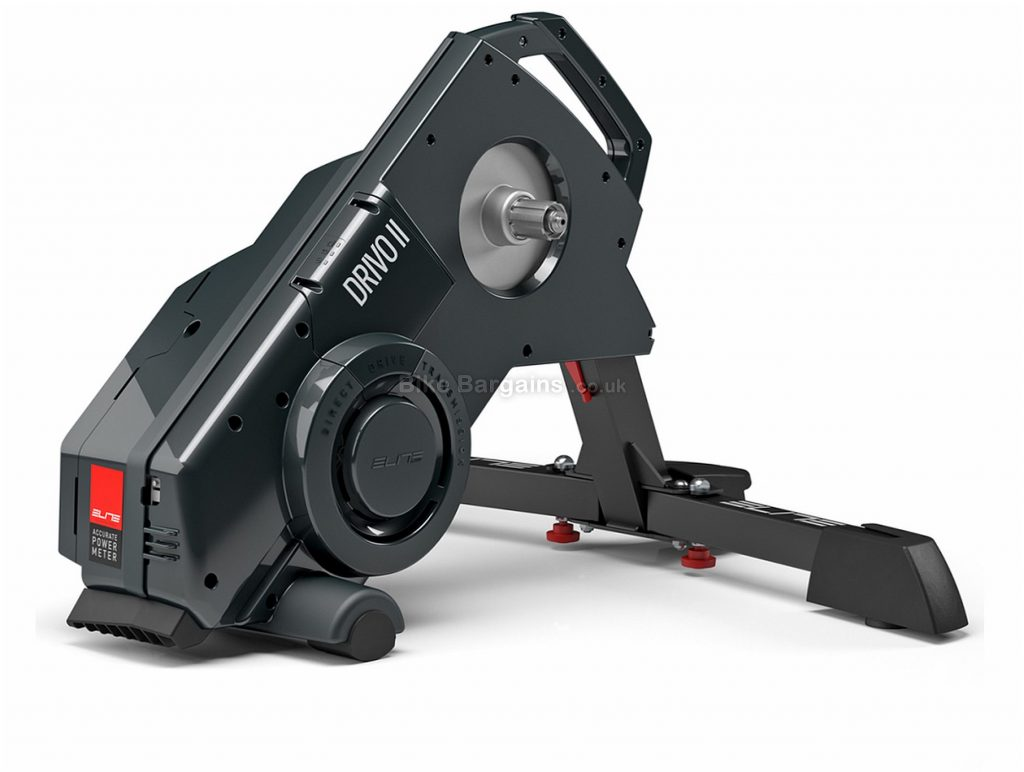 Elite Drivo II Direct Drive OTS Smart Turbo Trainer 3600 watts, 6kg flywheel, Black