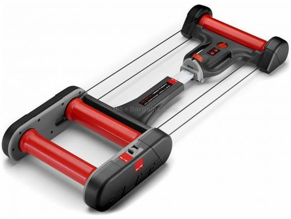 Elite Quick Motion Rollers 3 resistance levels, 11 positions, Grey, Red