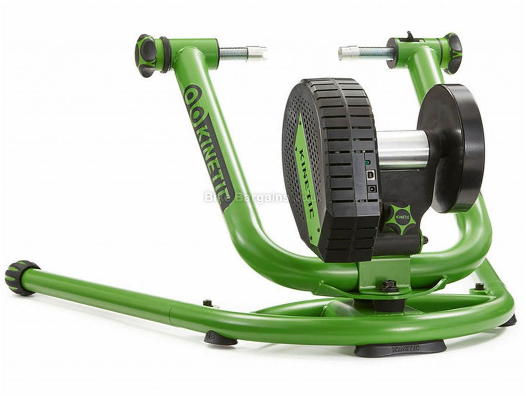 Kinetic Rock And Roll Control Turbo Trainer 1800 watts, Green, Black, Silver