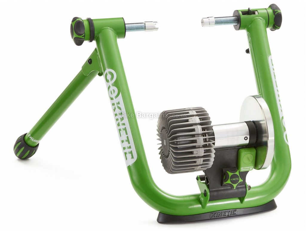 "Kinetic Smart 2 T-2710 Turbo Trainer 22"" - 29"" wheels, Green, Silver"