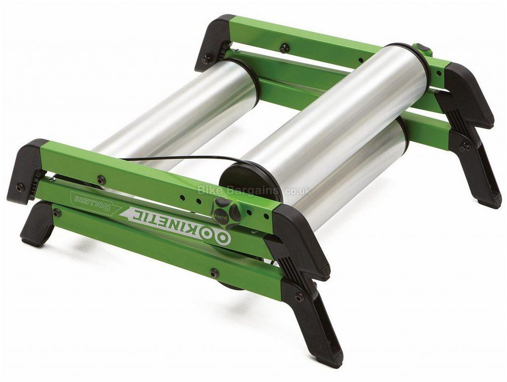 Kinetic T-2600 Z Rollers Lifetime warranty, Silver, Green