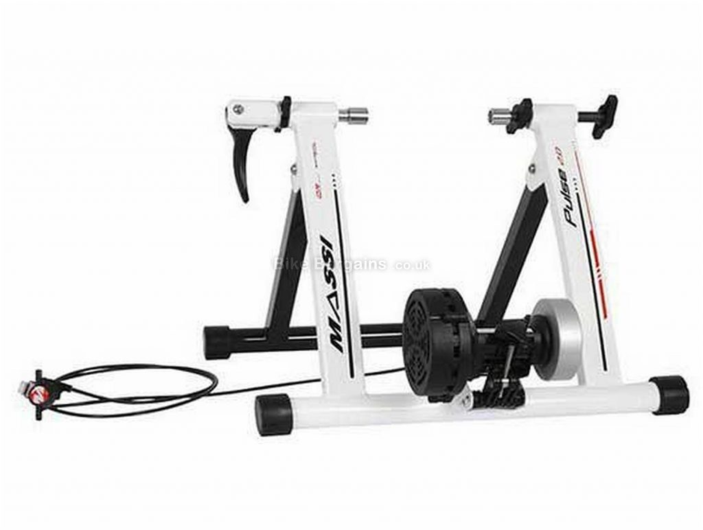 Massi Pulse 2.0 Turbo Trainer 980 watts, 8.09kg, White, Black