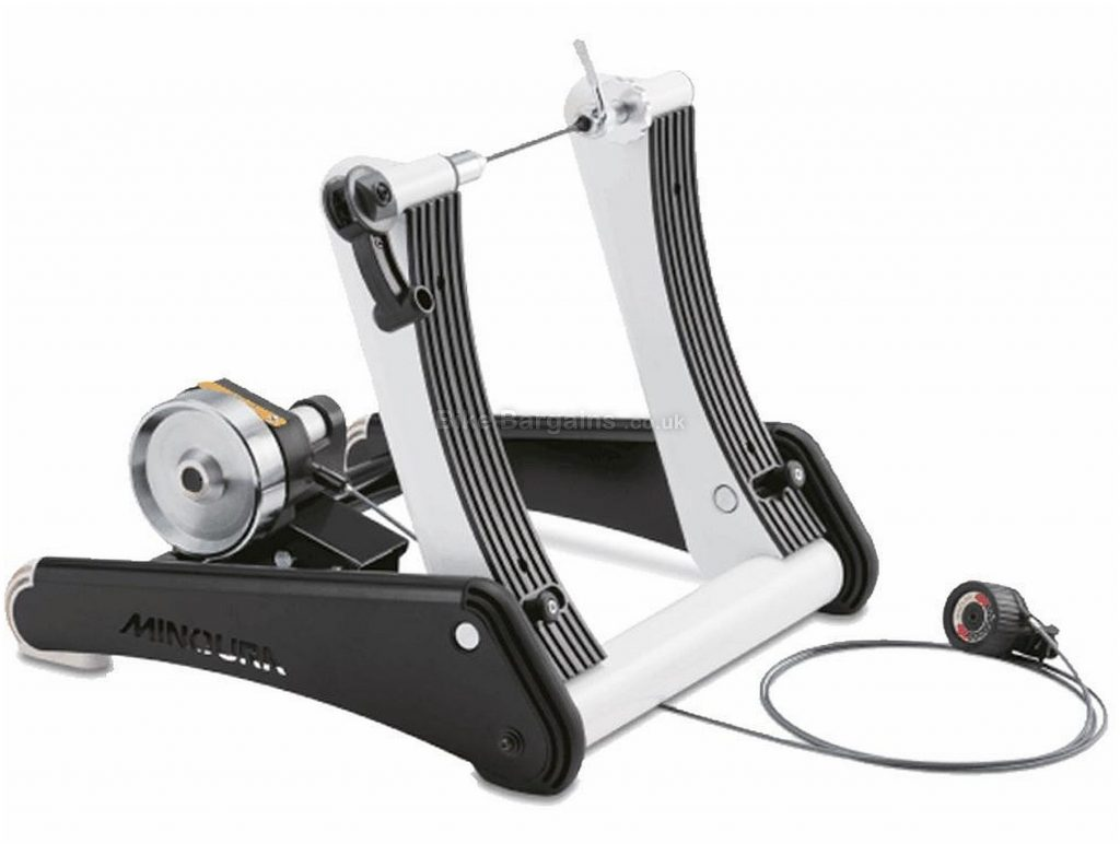 Minoura Live Ride LR961 Turbo Trainer 829 watts, 13 levels, 7kg flywheel, Silver, Black