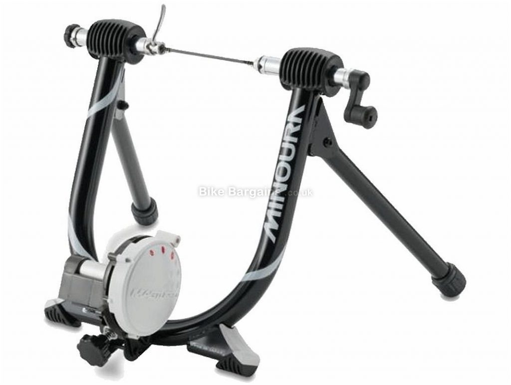 Minoura Mag Ride 60d Turbo Trainer 425 watts, 3 levels, 6kg flywheel, Black, White
