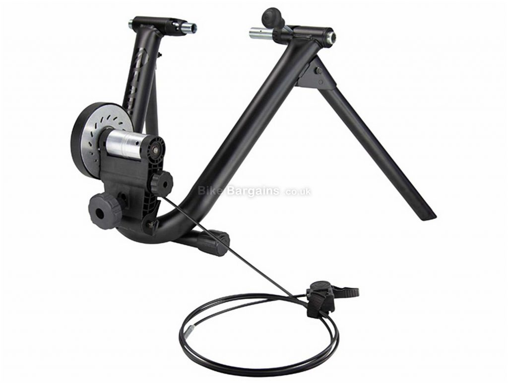 "Saris Mag+ Turbo Trainer Magnetic resistance, 26"" - 29"" tyre, Black, Silver"