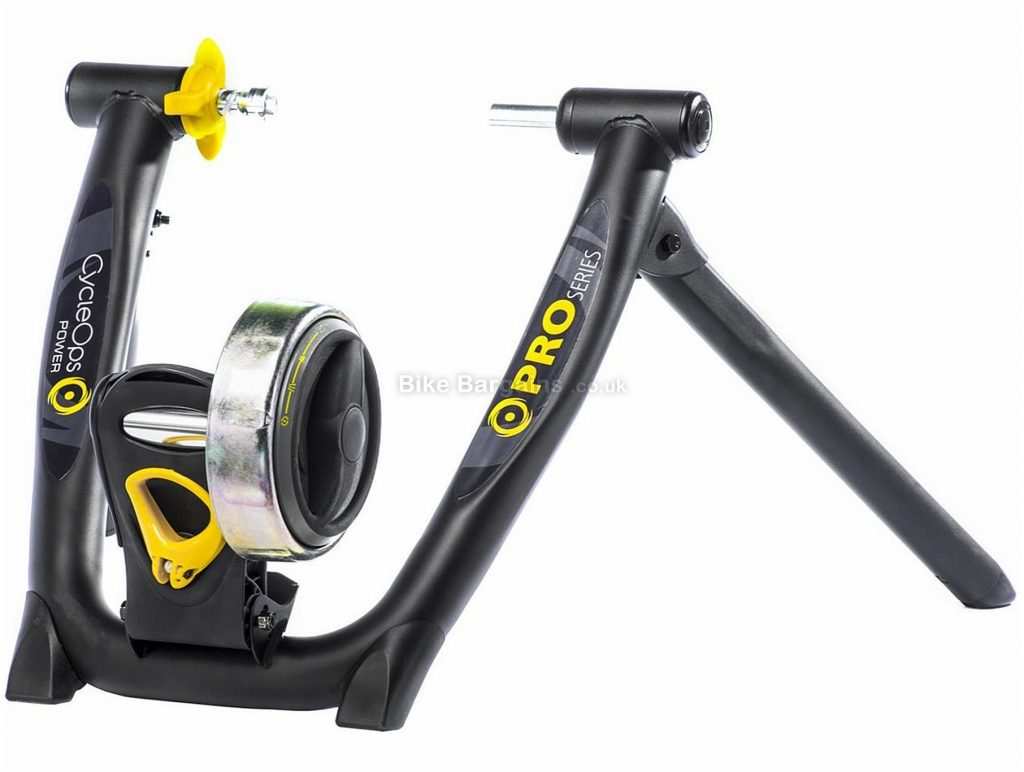 Saris Super Magneto Pro Turbo Trainer 4 resistance curves, Black, Silver, Yellow