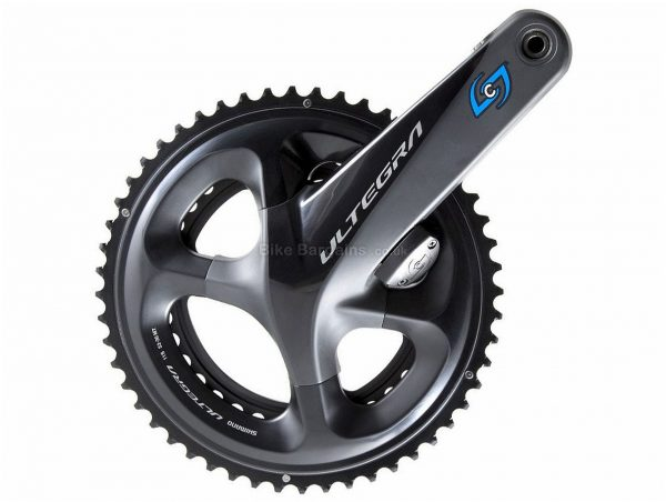 Stages Shimano Ultegra R8000 Right Crank Power Meter 170mm, 172.5mm, 175mm, Right Crank, Alloy, Black, 20g extra