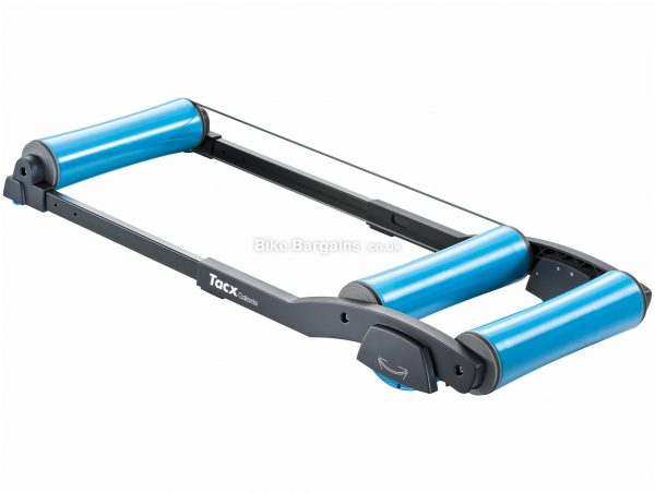 Tacx T1100 Galaxia Rollers Features unique swing system, Black, Blue