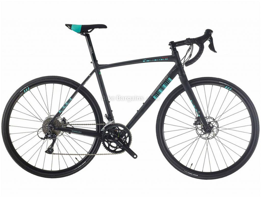 Bianchi Via Nirone 7 Allroad Sora Gravel Bike 2019 47cm, Black, Alloy, 18 Speed, Disc, 700c