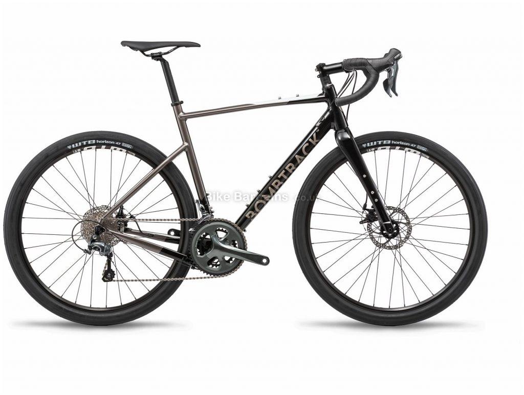 Bombtrack Audax Al Alloy Gravel Bike 2019 L, Black, Grey, 650c, Alloy, 10 speed, Disc, Double Chainring, 10.3kg
