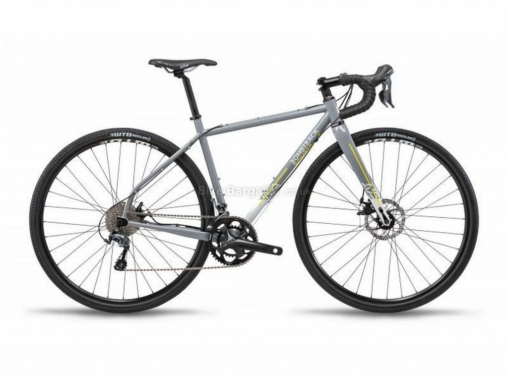 Bombtrack Hook Ladies Steel Gravel Bike 2019 49cm, Grey, 700c, Steel, 10 speed, Disc, Double Chainring, 10.8kg