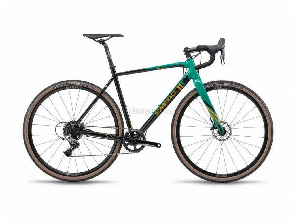 Bombtrack Tension 2 Alloy Cyclocross Bike 2019 53cm, 56cm, Black, Green, 700c, Alloy, 11 speed, Disc, Single Chainring, 8.8kg