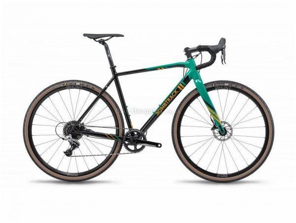 Bombtrack Tension 2 Alloy Cyclocross Bike 2019 56cm, Black, Green, 700c, Alloy, 11 speed, Disc, Single Chainring, 8.8kg