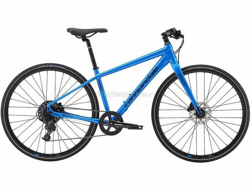 Cannondale Ladies Quick Disc 2 Alloy City Bike 2019 M, Blue, 700c, Alloy, 11 speed, Disc, Single Chainring