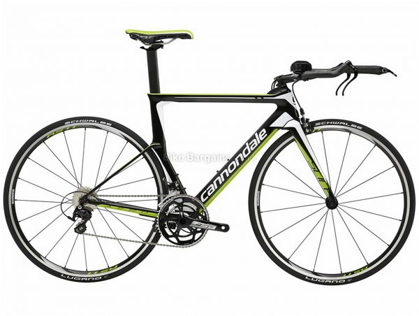 Cannondale Slice 105 Carbon Triathlon Bike 2016 44cm, 48cm, 51cm, Grey, Black, Green, 700c, Carbon, 11 speed, Caliper Brakes, Double Chainring