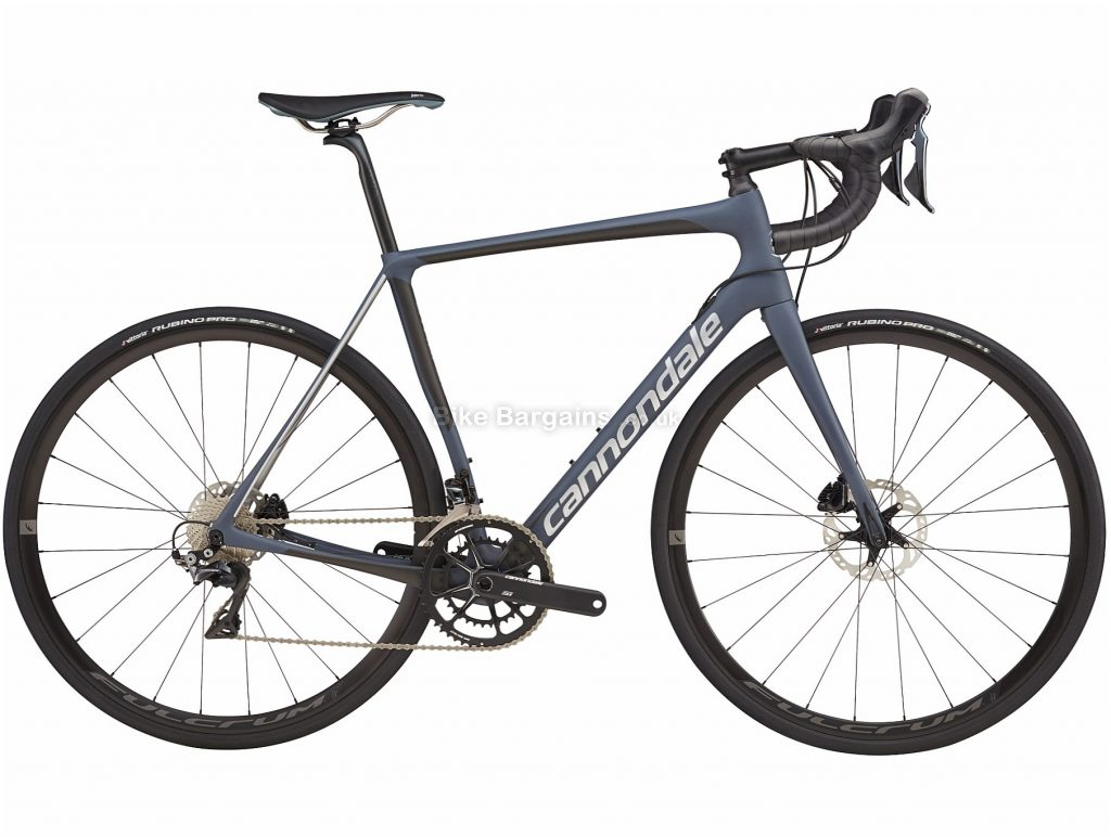 Cannondale Synapse Dura-Ace Disc Carbon Road Bike 2019 56cm, Grey, Carbon, 11 Speed, Disc, Double Chainring