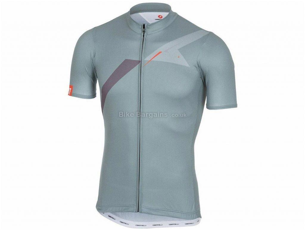 Castelli 3T XPDTN 3 Short Sleeve Jersey XL, Grey