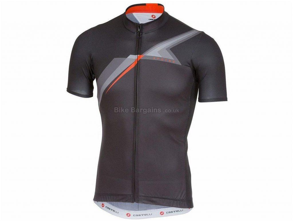 Castelli 3T XPDTN Discovery Short Sleeve Jersey XL, Grey