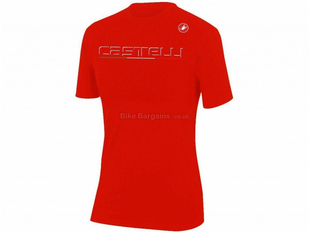 Castelli Classic T-Shirt 2019 XL, Red