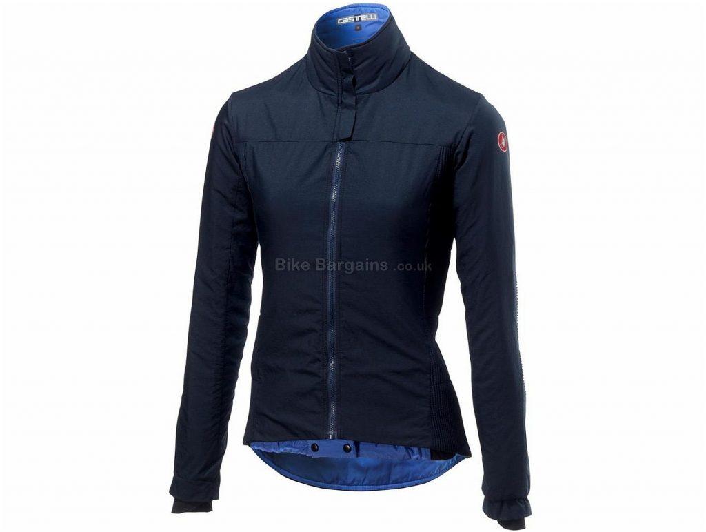 Castelli Elemento Lite Ladies Jacket S, Black, Yellow