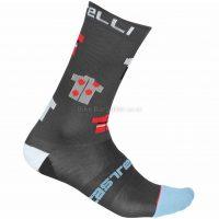 Castelli Pazzo 18 Socks 2019