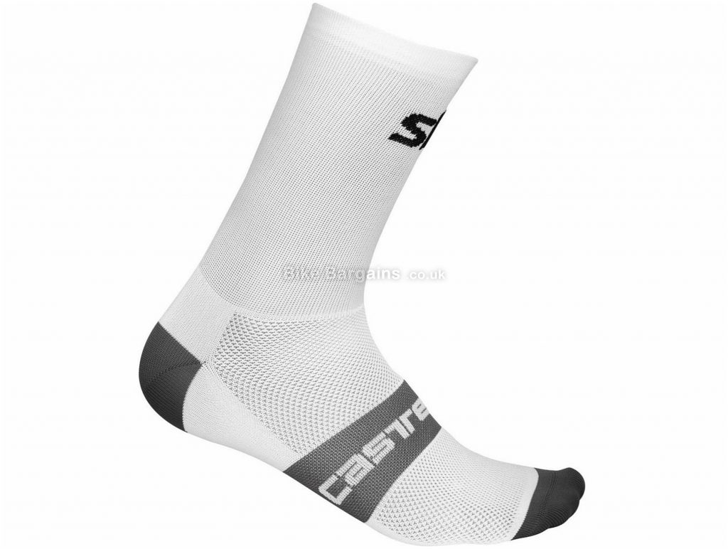 Castelli Team Sky Free Ladies Socks 2019 L,XL, White