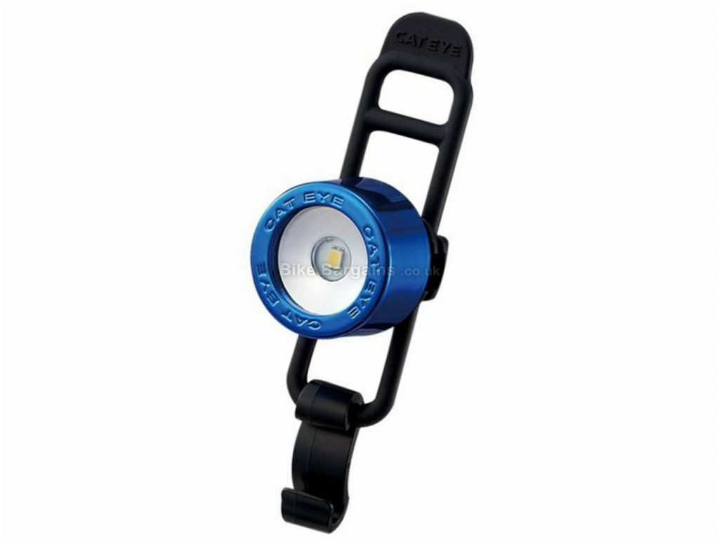 Cateye Nima 2 Front Light Black, Blue, One Size, Front
