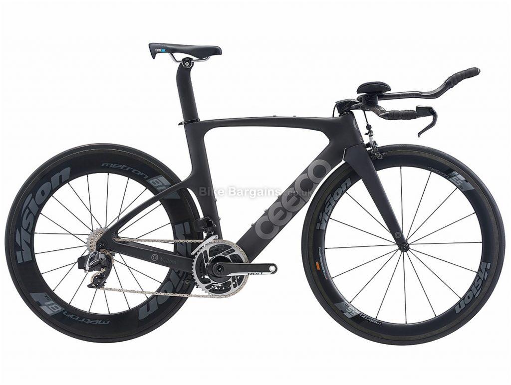 Ceepo Venom 105 Team 35 Triathlon Carbon Road Bike 2019 M, Black, Carbon, 11 Speed, Caliper Brakes, Double Chainring