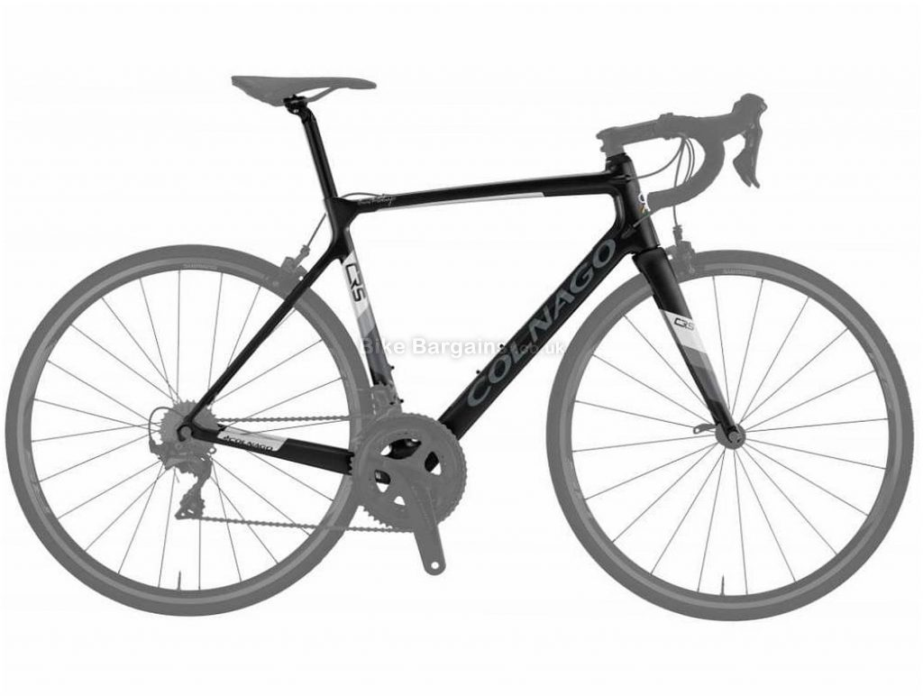 Colnago CRS Calipers Carbon Road Frame 2019 45cm, Black, Grey, Carbon, 700c, Caliper Brakes