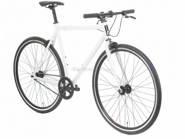 Compass Flip Flop Steel City Bike 53cm,55cm, White, Steel, 700c, Caliper Brakes, Single Speed