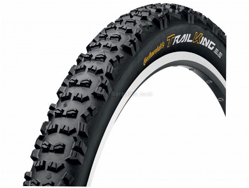 "Continental Trail King RaceSport Folding 29"" MTB Tyre 29"", 2.2"", Black, 730g, MTB, Folding"