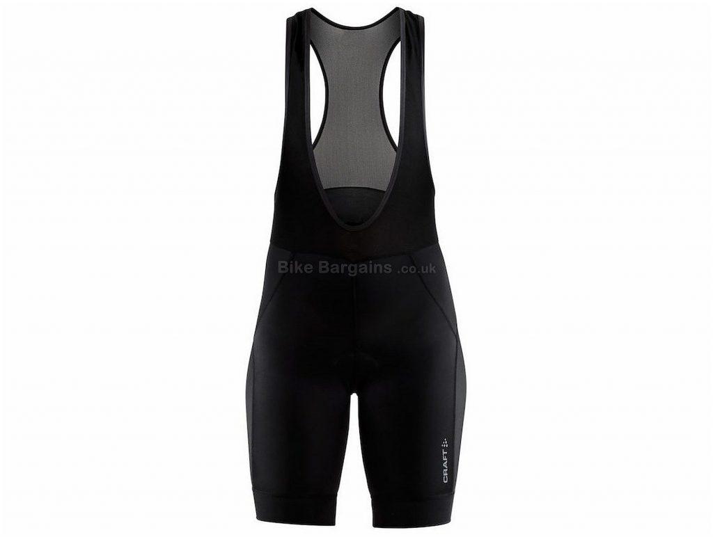 Craft Rise Ladies Bib Shorts XL, Black
