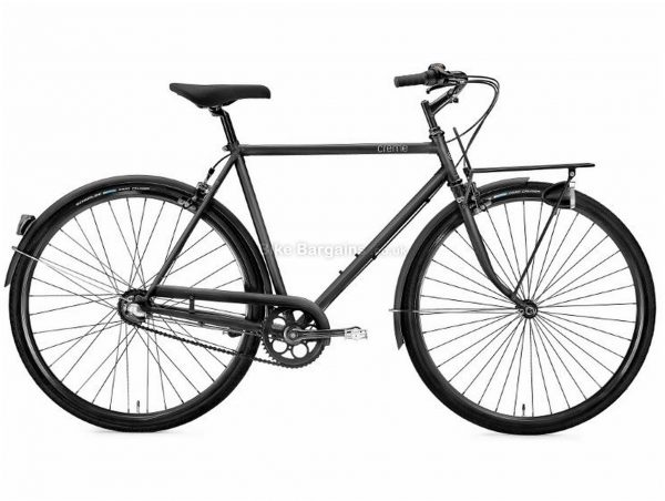 Creme Caferacer Solo City Hybrid Bike 2019 S, Grey, Steel, 7 Speed, Calipers, 700c