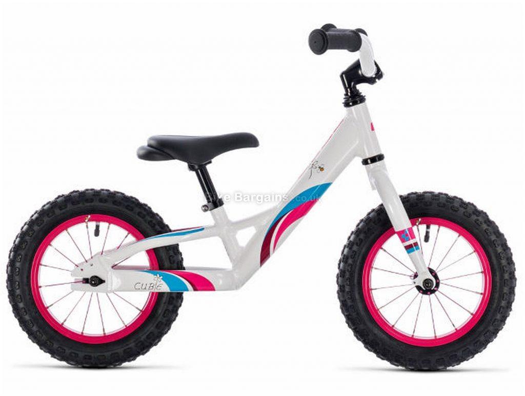"Cube Cubie 120 Walk Alloy Kids Bike 2019 12"", White, Pink, Alloy, 12"", 3.9kg"