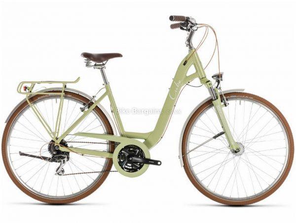 Cube Ella Ride Alloy Touring City Bike 2019 49cm, Green, Alloy, 700c, 8 Speed, Triple Chainring, Caliper Brakes, 16.7kg