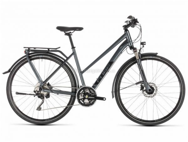 Cube Kathmandu Pro Trapeze Alloy Touring City Bike 2019 50cm, Black, Alloy, 700c, 10 Speed, Triple Chainring, Disc, 15.1kg