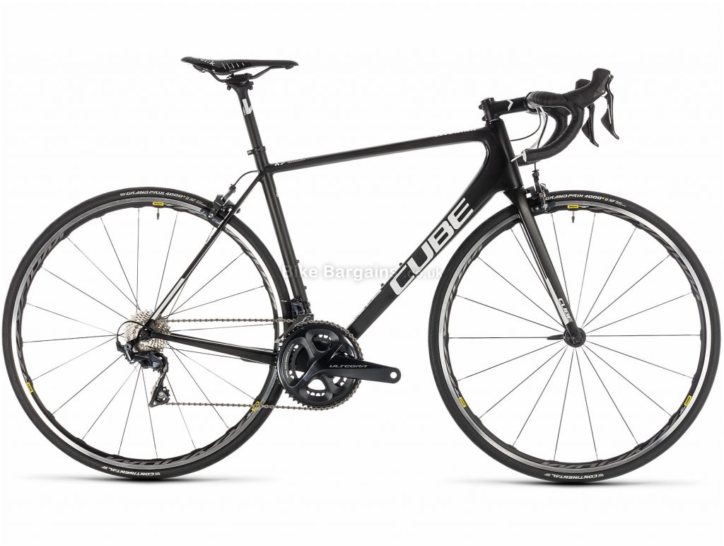 Cube Litening C:62 Pro Carbon Road Bike 2019 52cm, Black, Carbon, 11 Speed, Caliper Brakes, Double Chainring, 7.3kg