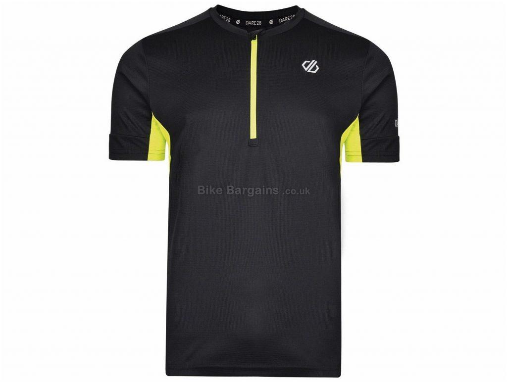 Dare 2b Equal Short Sleeve Jersey XS,S,XXL, Black